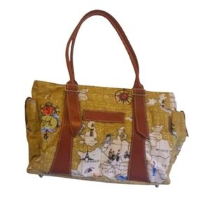 Original 1827 Travel by Sharif Tote Carry On Bag